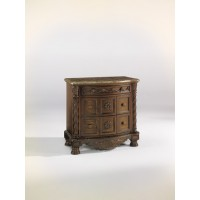 North Shore - Dark Brown - Three Drawer Night Stand