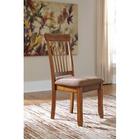 Berringer - Rustic Brown - Dining UPH Side Chair (2/CN)