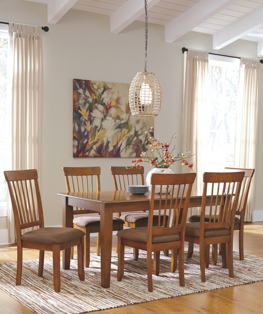 Dining Tables Rustic: Rectangular Dining Room Table