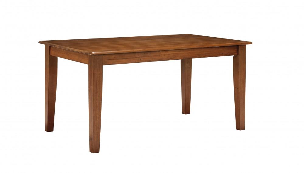 Berringer - Rustic Brown - Rectangular Dining Room Table