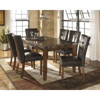 Lacey - Medium Brown - Dining UPH Side Chair (2/CN)