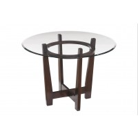 Charrell - Multi - Round Dining Room Table