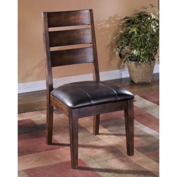 Larchmont - Burnished Dark Brown - Dining UPH Side Chair (2/CN)