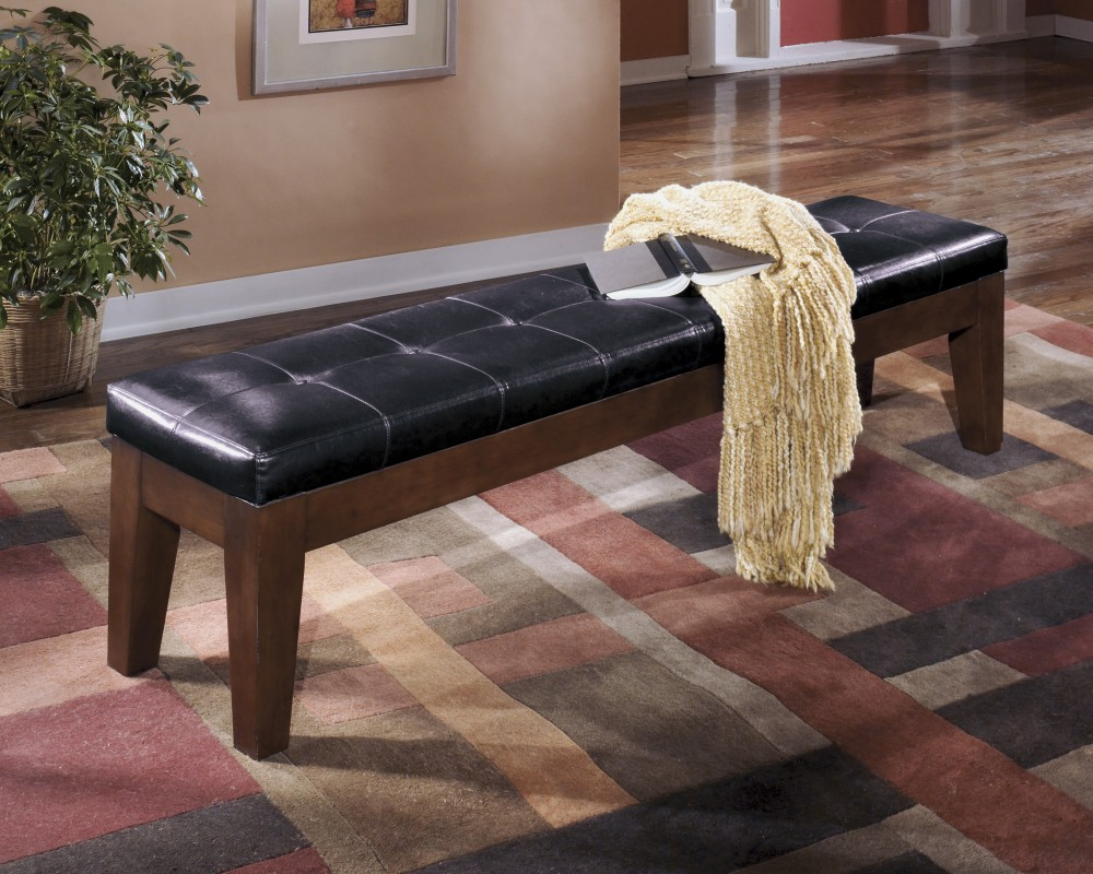 Larchmont - Burnished Dark Brown - Extra Large UPH DRM Bench