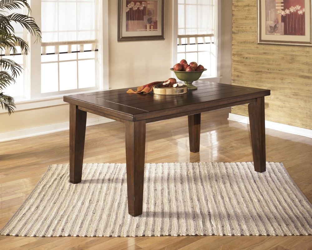 Larchmont   Burnished Dark Brown   Rectangular Dining Room Table