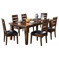 Larchmont - Burnished Dark Brown - RECT Dining Room EXT Table