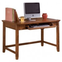 Cross Island - Medium Brown - Home Office Small Leg Desk