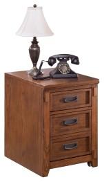 Cross Island - Medium Brown - File Cabinet