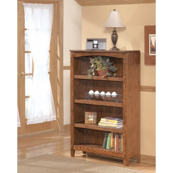Cross Island - Medium Brown - Medium Bookcase