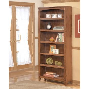 Cross Island - Medium Brown - Large Bookcase