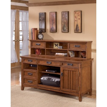 Cross Island - Medium Brown - Large Credenza