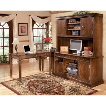 Hamlyn - Medium Brown - Home Office Small Leg Desk