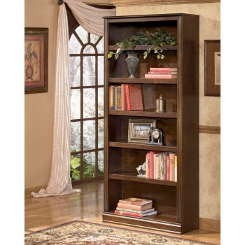 Hamlyn - Medium Brown - Large Bookcase