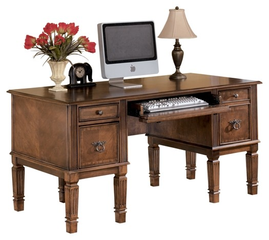 Awe Inspiring Hamlyn Medium Brown Home Office Storage Leg Desk Home Interior And Landscaping Synyenasavecom