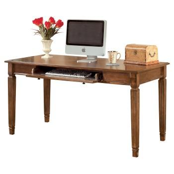 Hamlyn - Medium Brown - Home Office Large Leg Desk