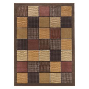 Patchwork - Brown - Medium Rug