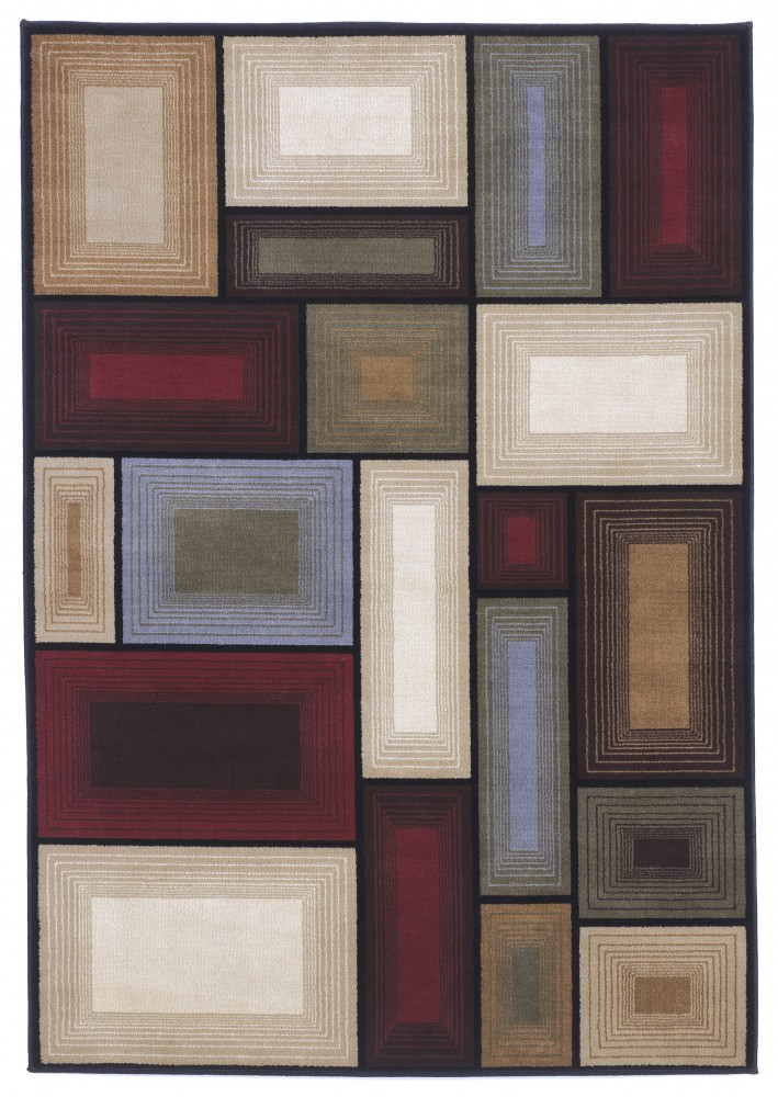 Prism Multi Medium Rug R215002 Rugs Neighborhood Closet