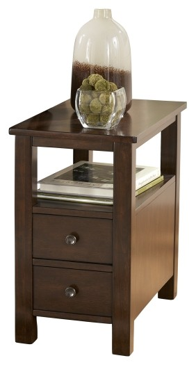 Marion - Dark Brown - Chair Side End Table