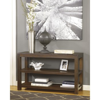 Grinlyn - Rustic Brown - Sofa Table