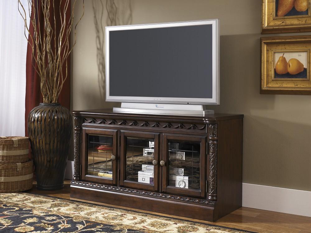North Shore - Dark Brown - D Medium TV Stand