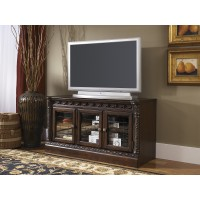 North Shore - Dark Brown - D Medium TV Stand
