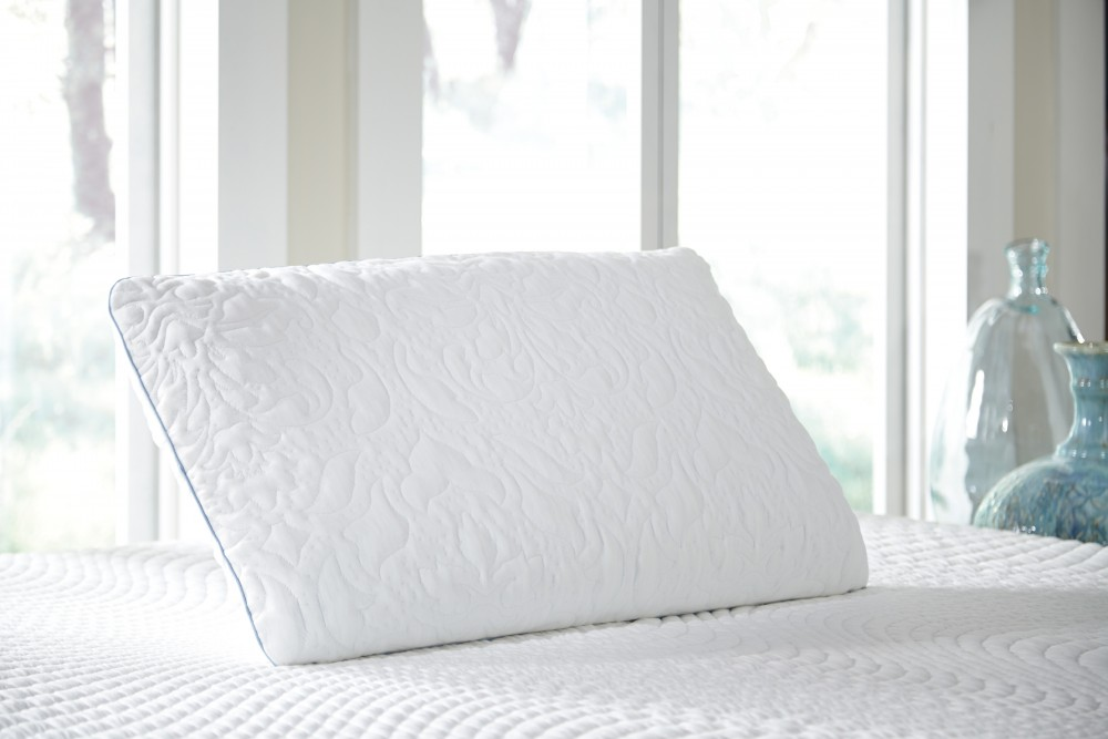 Ashley Pillow - White - King Ventilated Pillow