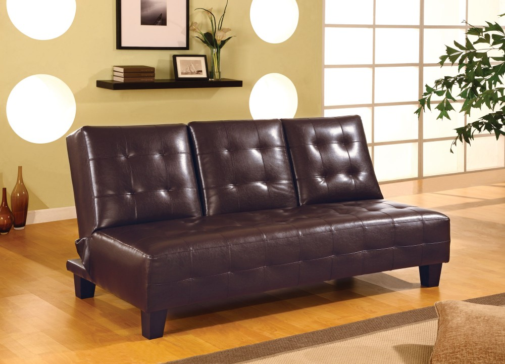 Dark Brown Sofa Bed - 300153