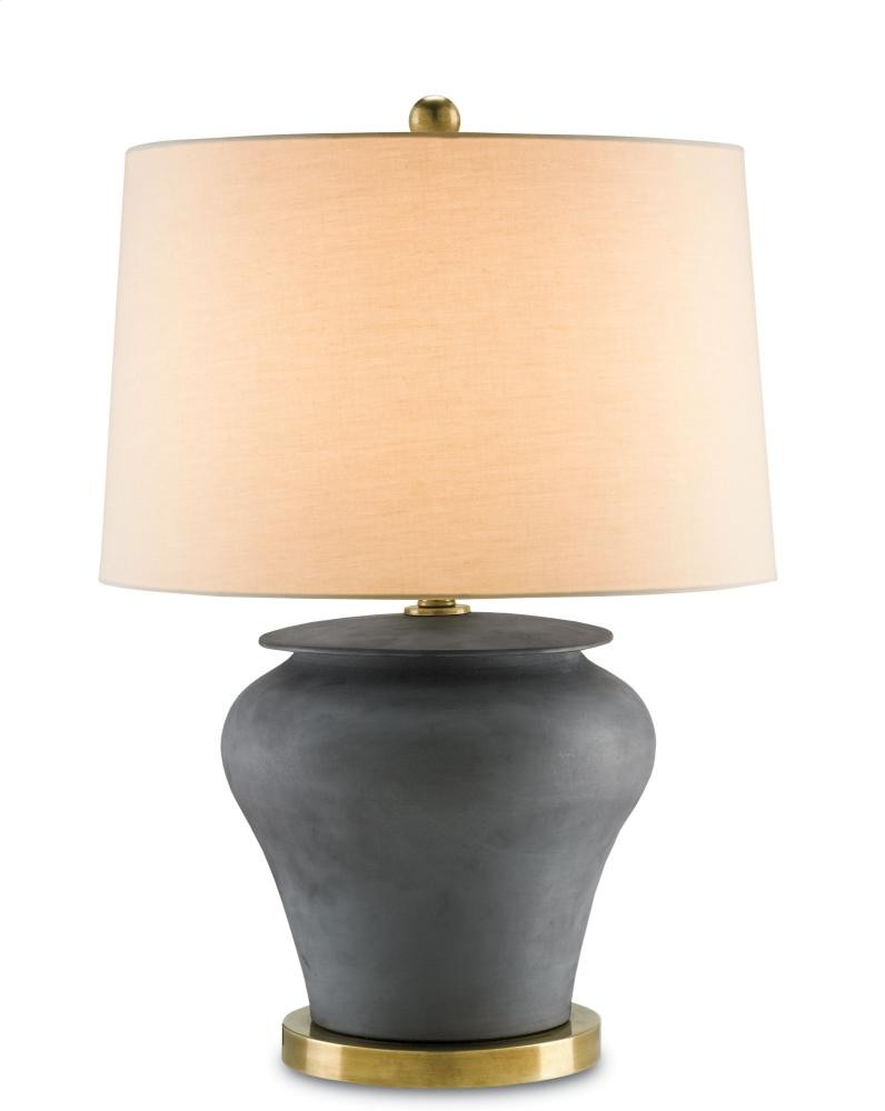 Winkworth Table Lamp, Black - 27h