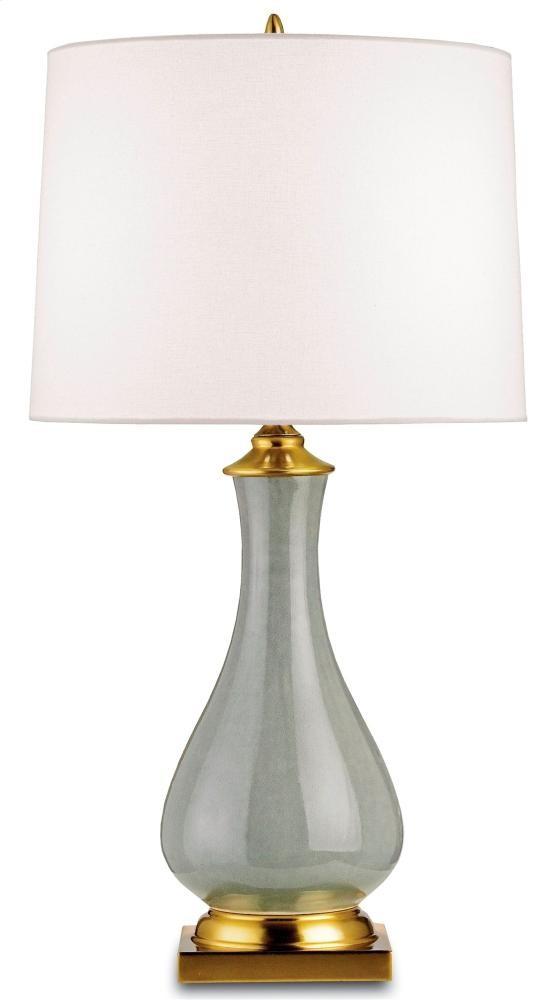 Lynton Table Lamp, Gray - 31h