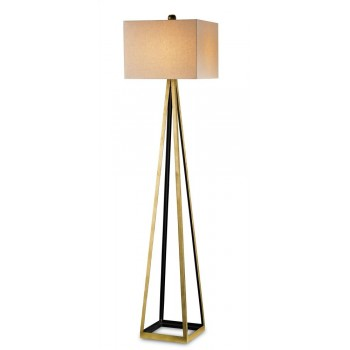 Bel Mondo Floor Lamp, Gold - 70hh