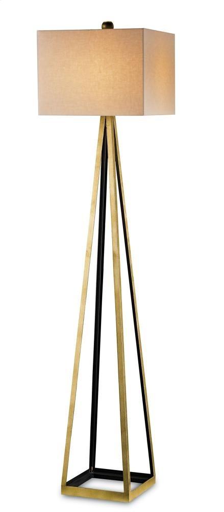 Bel Mondo Floor Lamp, Gold - 70hh