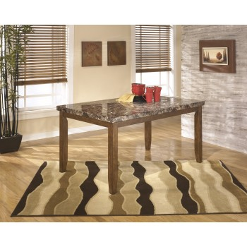 Lacey - Medium Brown - Rectangular Dining Room Table