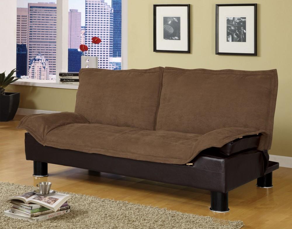 Coffee&brown Futon Sofa Bed - 300179