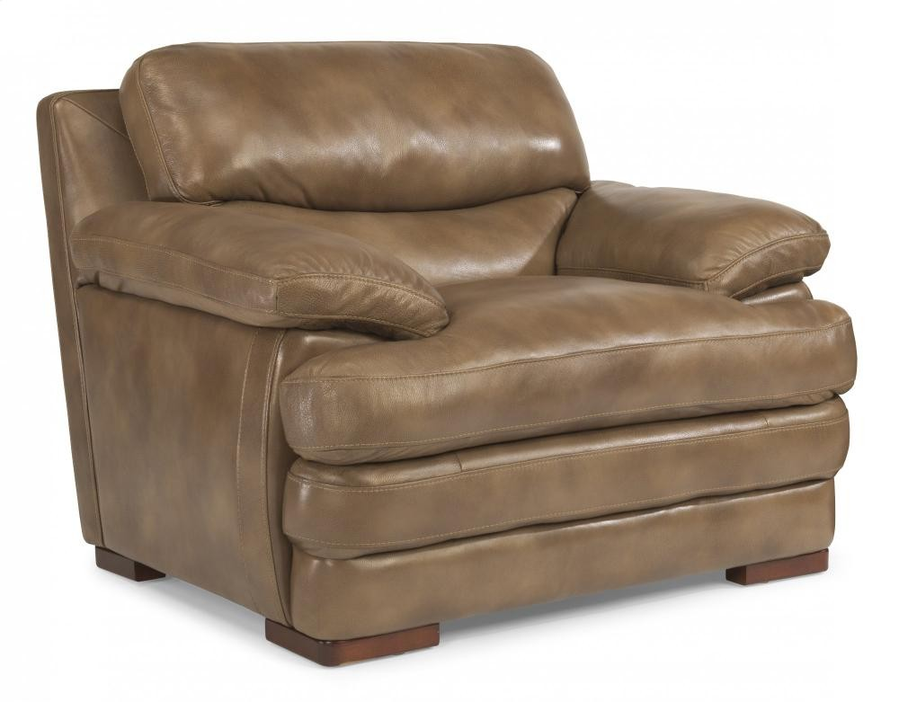 Dylan Leather Chair Without Nailhead Trim 112710