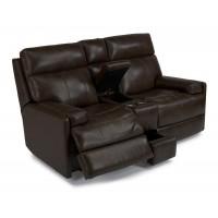 Astonishing Leather Reclining Power Loveseat Furniture Michigan City In Machost Co Dining Chair Design Ideas Machostcouk