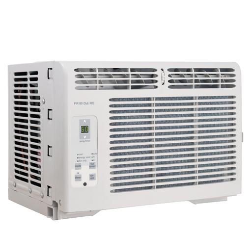 FRIGIDAIRE Frigidaire 5,000 BTU Window-Mounted Room Air Conditioner ...