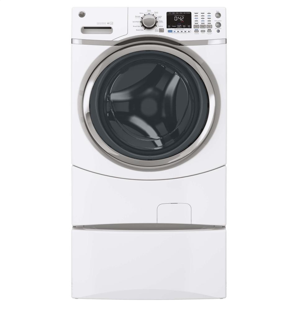 GENERAL ELECTRIC GE(R) ENERGY STAR(R) 4.3 DOE Cu. Ft. Capacity Frontload Washer