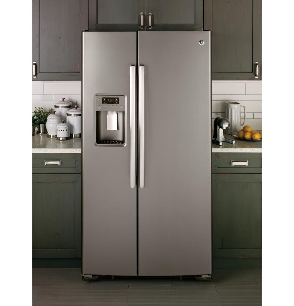 GENERAL ELECTRIC GE(R) 25.4 Cu. Ft. Side By Side