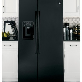 GENERAL ELECTRIC GE Profile Series ENERGY STAR(R) 25.4 Cu. Ft. Side-by-Side Refrigerator