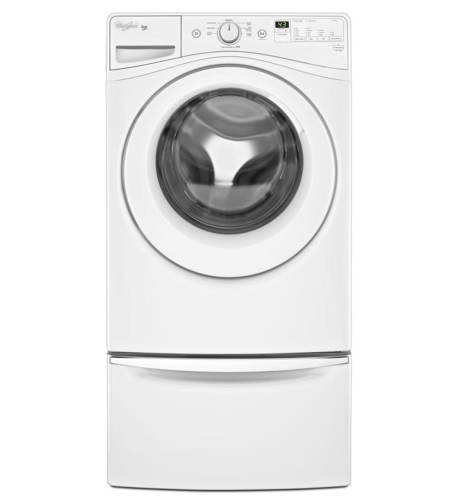 whirlpool cu machine maytag front top white washers steam efficiency high pedestal load washing adapative stackable energy ft with star p