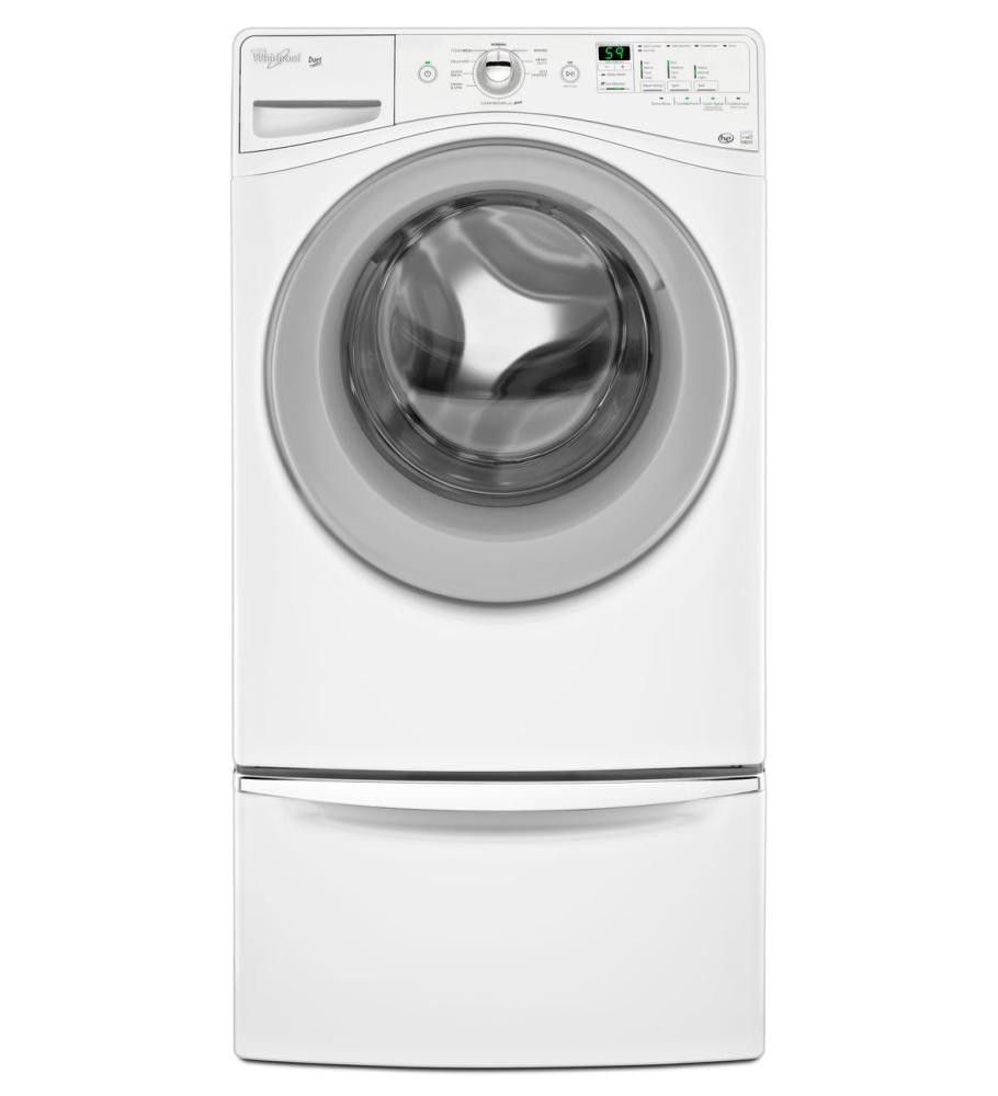 maytag p storage white and pedestals for with washer dryer pedestal load front laundry in