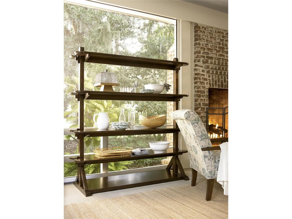 Paula deen home pantry rack river bank curio cabinets whit ash