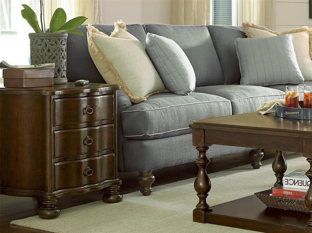 Paula deen home chair side table river bank tables whit ash