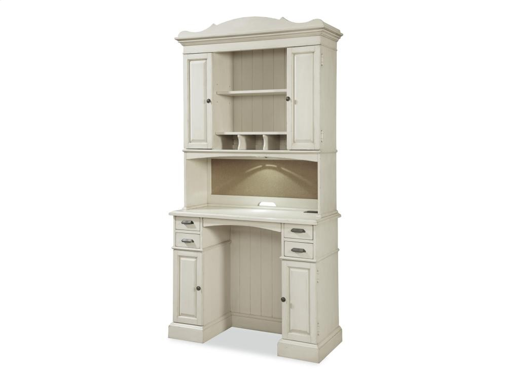 PAULA DEEN HOME Family Organizer Desk with Hutch - River Boat | Home ...