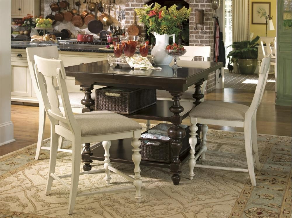 PAULA DEEN HOME Kitchen Gathering Table - Tobacco | Tables | Whit ...