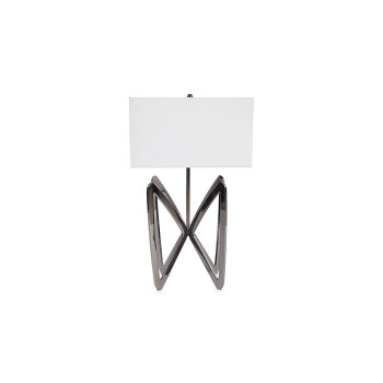 Butterfly Table Lamp Plated Black Nickel