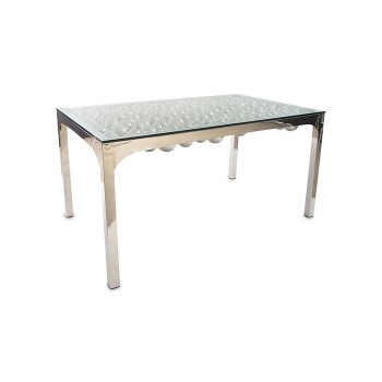 Frizzante Dining Table Stainless Steel