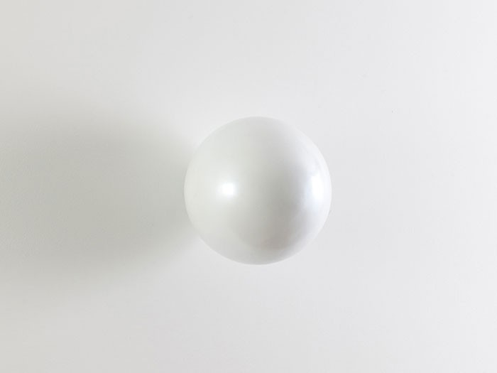 Ball on the Wall Pearl White, SM