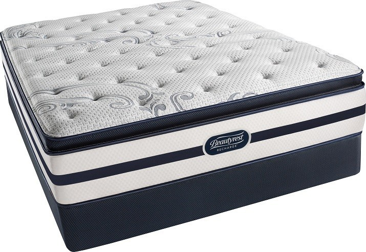 SIMMONS Beautyrest - Recharge - Seaside - Luxury Firm - Pillow Top - Queen