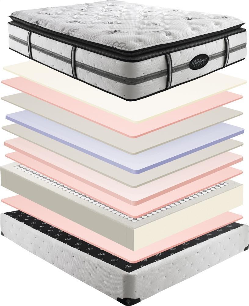 SIMMONS Beautyrest - Black - Mariela - Plush - Pillow Top - Queen